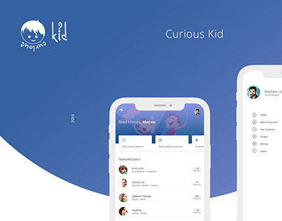 Curious Kid   Mobile Application
