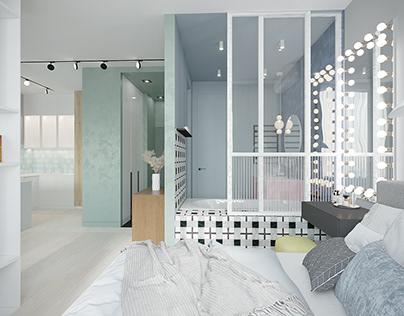 Квартира для молодой девушки в г. Москва