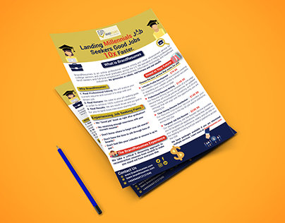 Corporate Flyer with Hyperlinks