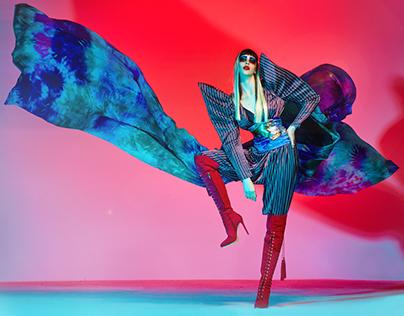 Belgrade Fashion Week tribute to David Bowie