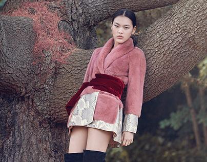 Saga Furs Campaign fall 2018