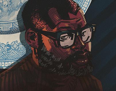 Jordan Peele Portrait