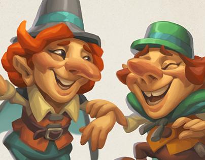 Laughing fairies