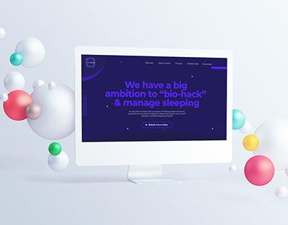 SmartSleep - Polyphasic sleep project   UX/UI