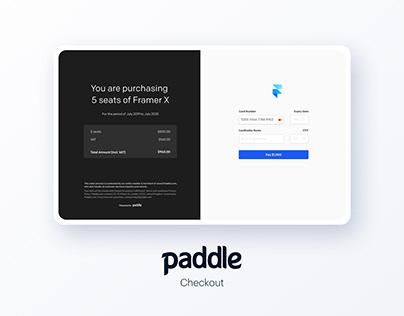 Paddle Checkout
