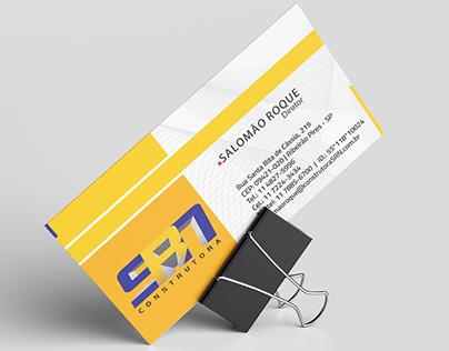 Cartão de Visitas para Construtora