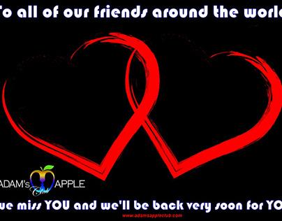 We miss YOU Adams Apple Club Chiang Mai Gay Bar