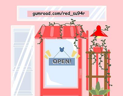 Gumroad Store: www.gumroad.com/red_su94r