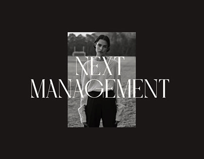NEXT MANAGEMENT AGENCY | REDESIGN 2020