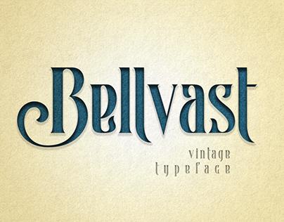 Bellvast Vintage Typeface