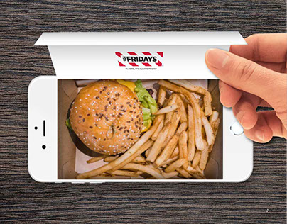 TGI Fridays & Foodora: Home Delivery Advertisement