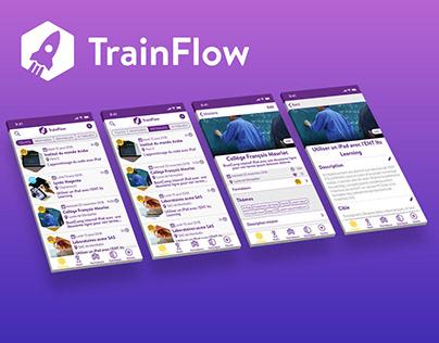 TrainFlow app