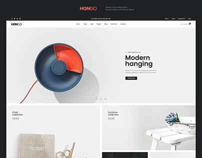 Hongo WooCommerce WordPress Theme - Decor