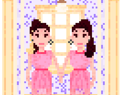 Yeri e Irene - Really Bad Boy Pixel Art