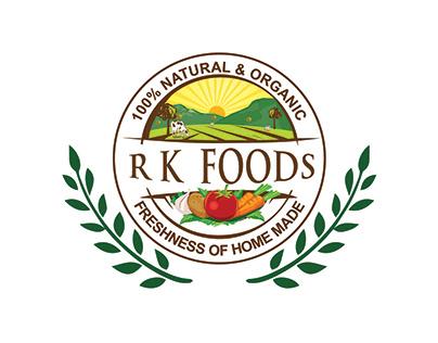 Rk Food Logo
