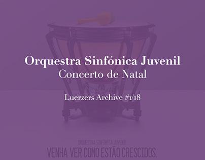 Concerto de Natal - Orquestra Sinfónica Juvenil