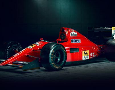 Ferrari 641 WIP