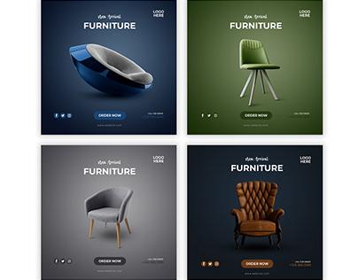 Social Media Post Bundle (Furniture)