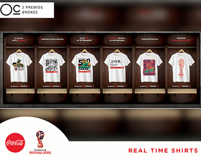 Real Time Shirt by Coca-Cola.