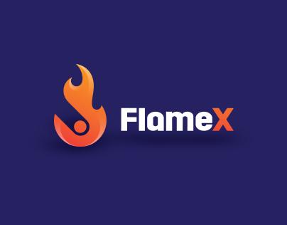 FlameX Logo Development