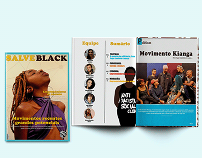 Magazine - Salve Black