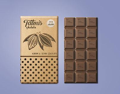 Tatmis Çikolata Ambalaj Tasarımı / Packaging Design