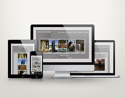 Archie Held Studio Website