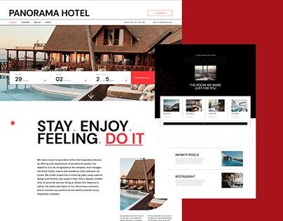Panorama Hotel - UI concept