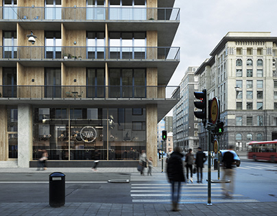RESIDENTIAL BUILDING STOCKHOLM