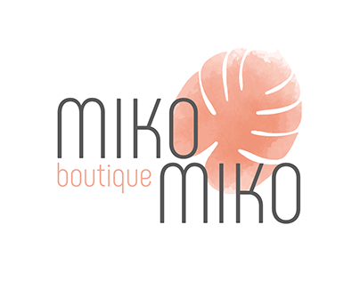 MIKO MIKO Hawaiian Clothing Boutique LOGO DESIGN