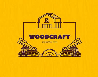 Responsive Logo study for carpenter