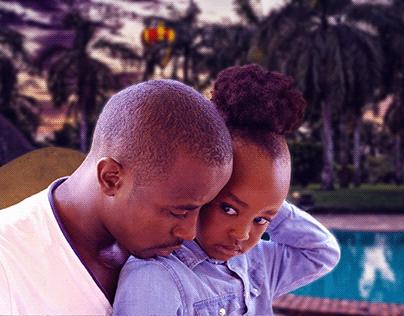 My wife family in Diani, Kenya.