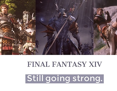FINAL FANTASY XIV - A game with every reason love FF