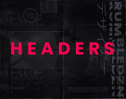 Header Designs - Social Media