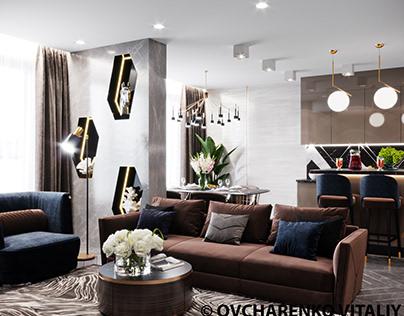 Fashion apartment 96m2