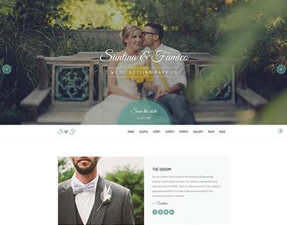 Lovely Wedding – Responsive Wedding Template