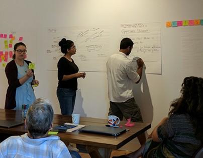 Facilitation of Creative Thinking Workshop