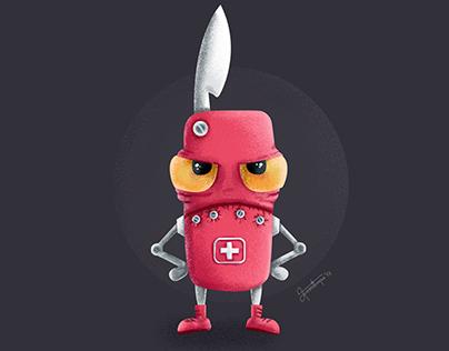 The Grumpy Swiss Knife
