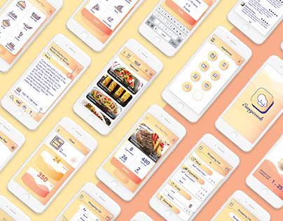 Easycook - A Kitchen Assistant App.