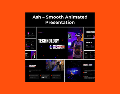 Ash – Smooth Animated Presentation