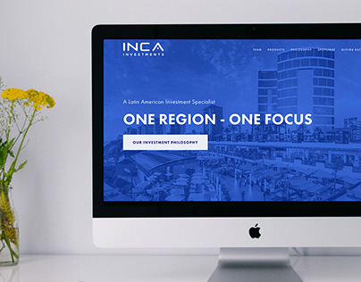UI/UX & Brand for INCA Investments