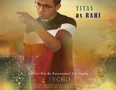 Psycho - Short Film Poster Design