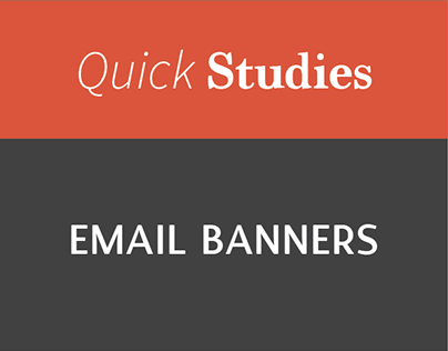 Collection of Email Banners