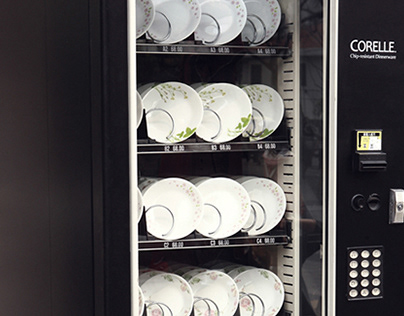 CORELLE vending machine