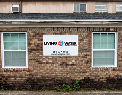 Living Water Fire Protection Rebranding