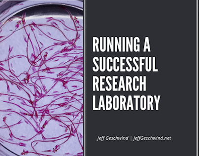 How to Run a Successful Research Laboratory