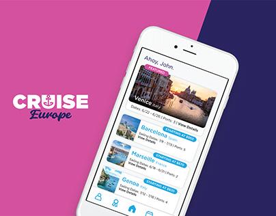 Cruise Europe App