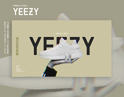 Yeezysupply.com UI revamp