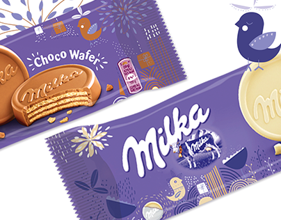 Design for Milka seasonal Packs