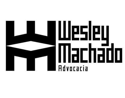 Wesley Machado Advocacia Logo, papelaria e Midia Socia